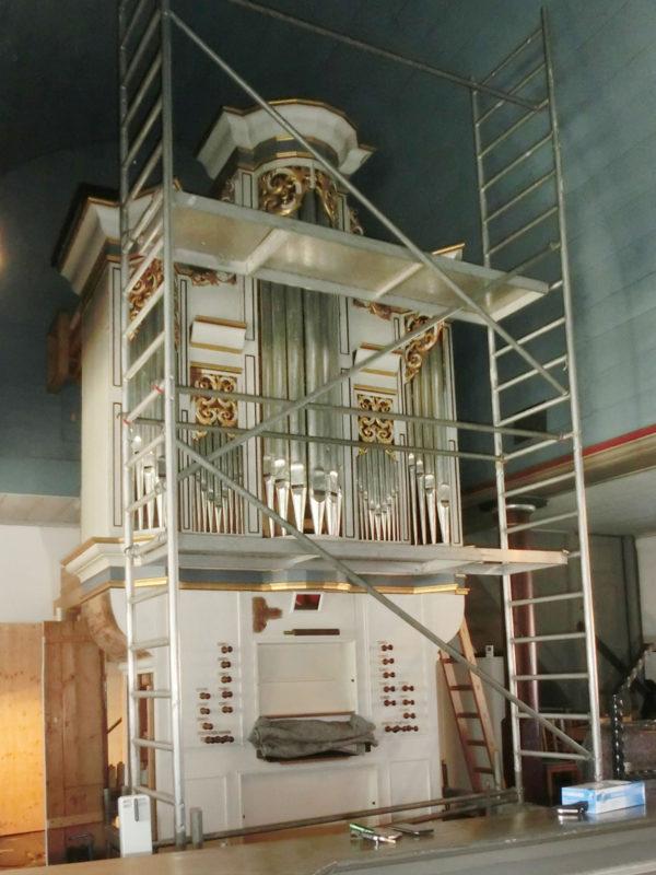 Barbis Ev. luth. St-Petri Kirche Projekte Orgelbau Sauer und Heinemann