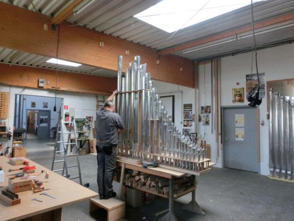 Hoerste kath. Pfarrkirche Projekte Orgelbau Sauer und Heinemann