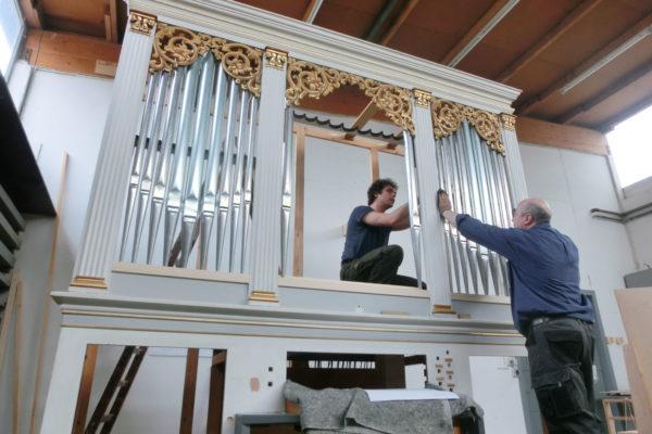 Waake Ev. luth. Pfarrkirche Projekte Orgelbau Sauer und Heinemann