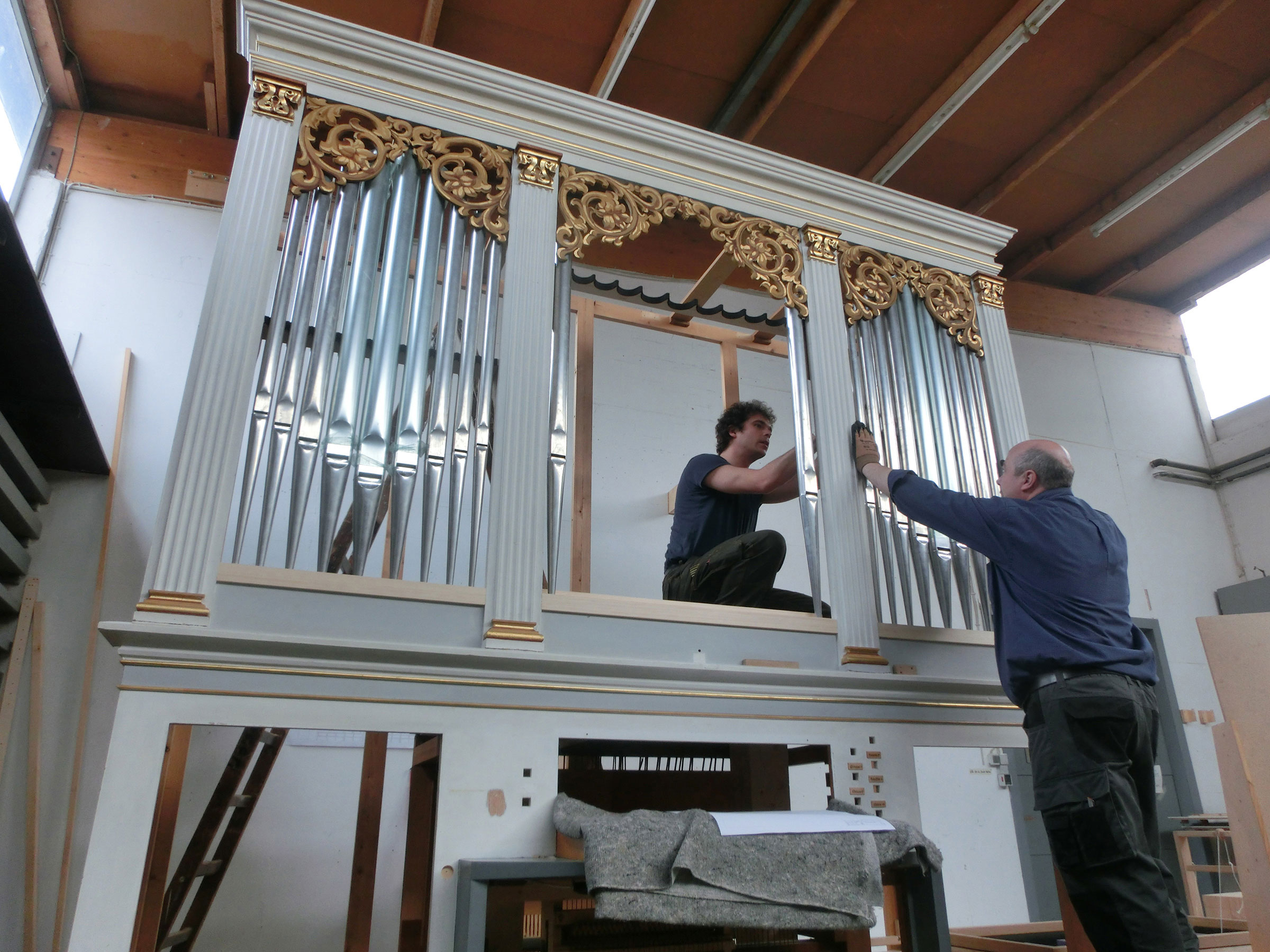 Waake Ev. luth. Pfarrkirche Projekte Orgelbau Sauer und Heinemann Orgelbau Sauer und Heinemann Startseite